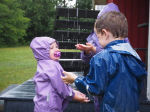 leg i regnvejret